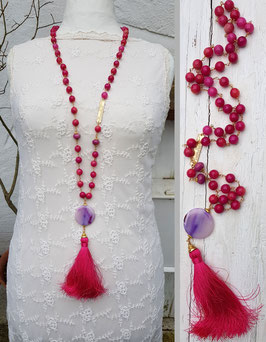 Mala Style Necklace *RADIANT ABUNDANCE*