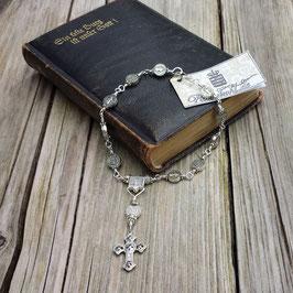 blessed chaplet *benedictus argentum*