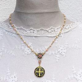 Schutzkette *Benedictus angel's coral*
