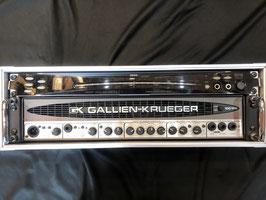 中古 GALLIEN-KRUEGER 1001RB II + KORG DTR-2000、ラックケース付き