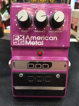 中古 DOD FX56 American Metal