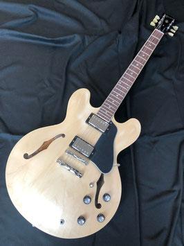 新品 Gibson USA ES-335 Satin Vintage Natural