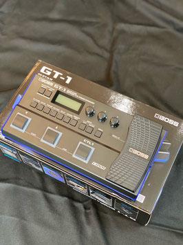 中古(美品) BOSS GT-1 (箱、電源アダプター、取扱説明書付き)