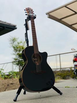 新品 LAG Guitars T118ASCE-BLK