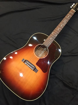 美品! USED 2014年製 Gibson Custom Shop 1950's J-45 Tri-Burst