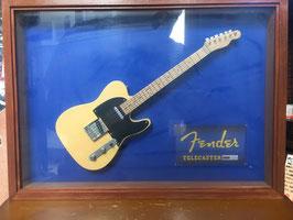 オリジナルハンドメイド・ミニチュアギター Fender Telecastar Model Blond