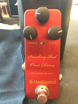 美品中古 One Control Strawbery Red Over Drive
