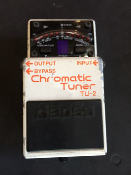 中古 BOSS Chromatic Tuner TU-2