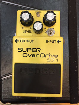 USED BOSS SD-1 MOD