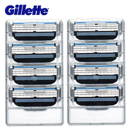 Gillette Mach 3 Turbo Ersatzklingen 8 Stück (Einführungspreis) (original Gillette)