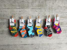 4 Paar Socken Kinder Tierli 30-34  (ähnliche Qualität wie Happy Socks - zu fairen Preisen)