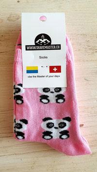 Panda Socken 1 Paar (Grösse passt 24-27)  (ähnliche Qualität wie Happy Socks - zu fairen Preisen)