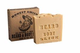 Slick Beard and Body Soap Honest Amish