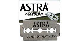 Rasierklingen Superior Platinum, Double Edge 5 Stk und  Astra Superior Stainless Double Edge Rasierklinge 5 Stk