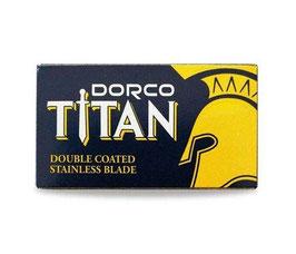 10 Dorco Titan doppelseitig Rasierklingen