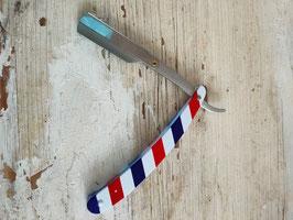 Rasiermesser Shavette Barbier metall  (plus 1 Pack Klingen können vom Bild abweichen)