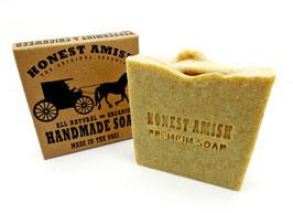Bade- und Körperseife - mit natürlichen und biologischen Premium-Ölen - Honest Amish (Pfefferminz- und Nelke)