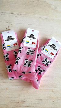 Panda Socken 3 Paar (Grösse passt 39-42)  (ähnliche Qualität wie Happy Socks - zu fairen Preisen)