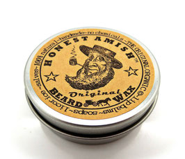 Honest Amish Beard Wax Original (60 ml Original-Bartwachs)