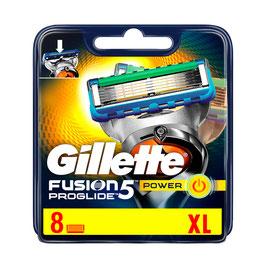Gillette Fusion5 ProGlide Klingen 8 Stück (Power)