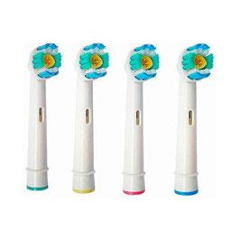 4 Aufsteckbürsten (ähnlich wie Oral-B Pro Bright 3D White)