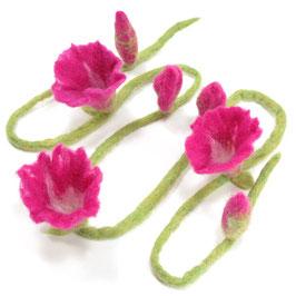 Blütenband pink BB6102