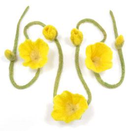 Blütenband gelb BB6103