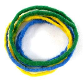 Armband grün-gelb-blau AR6103