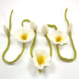 Blütenband weiß BB6106