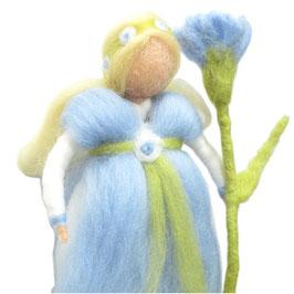 Blütenfee hellblau FE6105