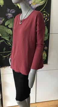 BLUSBAR kastiges Shirt  in Merinowolle