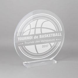 Trophée sportif basketball