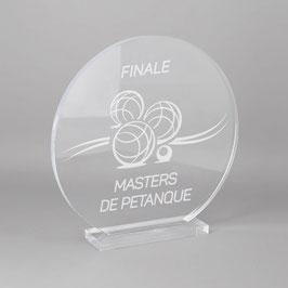 Trophée sportif pétanque