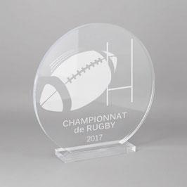 Trophée sportif rugby