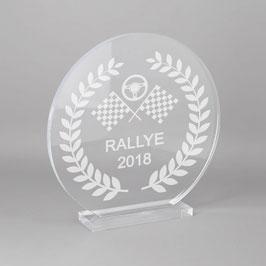 Trophée sportif rallye