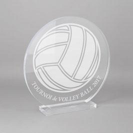 Trophée sportif volley ball