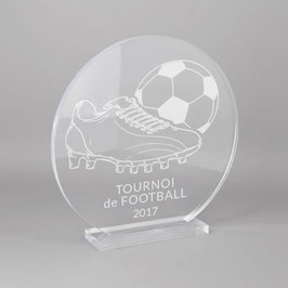 Trophée sportif football