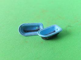 W3 - Alte blaue Badewanne