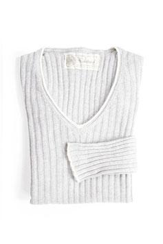 Cashmere Sweater Silver