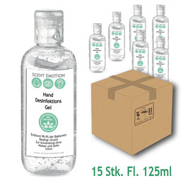 Scent CLEANHAND 125ml - 15 Stk.