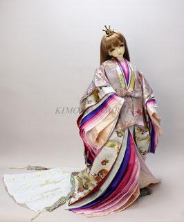 親王装束 女雛 MIYABI.K.f.001