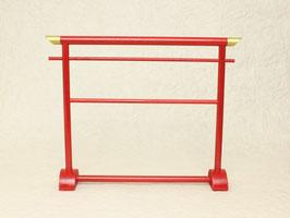 衣桁 紅 復刻版 初代リカちゃんサイズ iko-04R