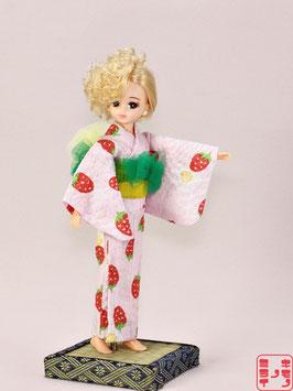 綿リップル ピンク イチゴ S.013ys