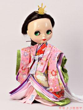 親王装束 女雛 MIYABI.S.f.002