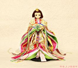 親王装束 女雛 MIYABI.S.f.001