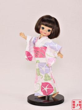綿リップル ピンク朝顔 SS3.008ys