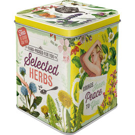 Selected Herbs, Tea Box