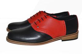 Jump Bowling Shoe, Black/Red