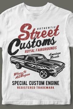 Street Customs, White