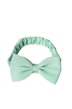 Dionne Bow Headband, Mint or Navy